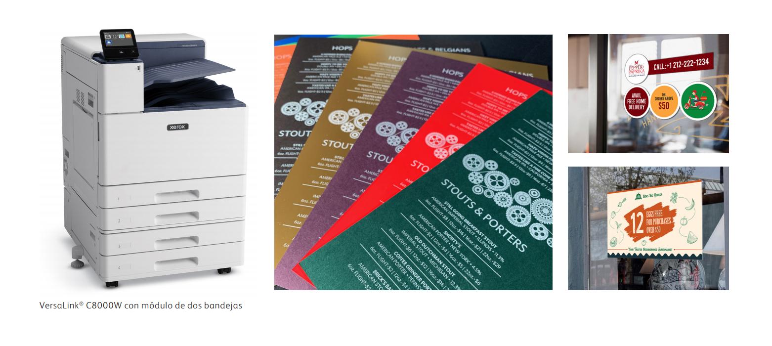 Explore nuevas oportunidades en el mundo de la impresión en color con el tóner blanco