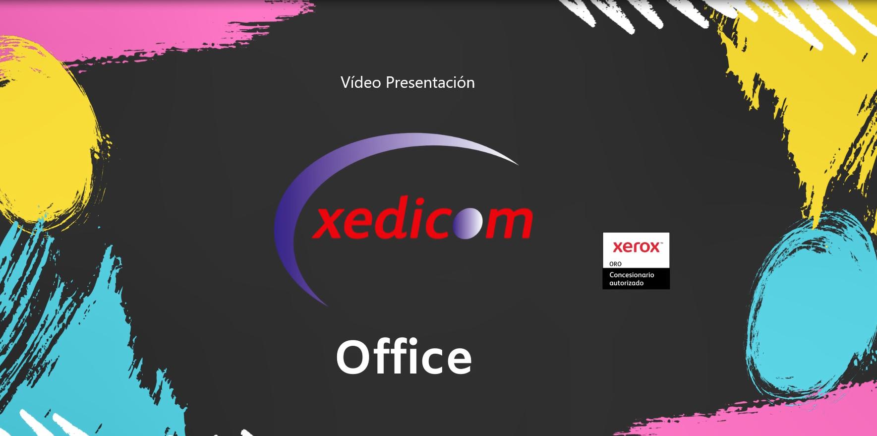 Presentación Xedicom - Xerox